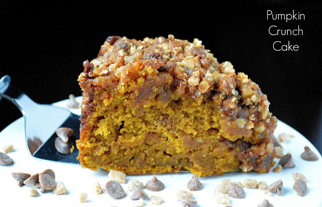 pumpkin cake recipe called pumpkin crunch cake