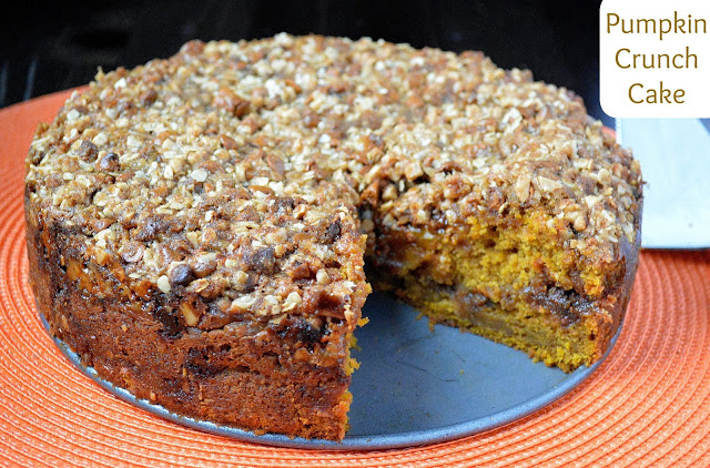 pumpkin cake recipe with crunch topping