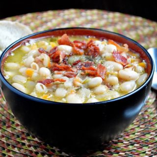 Hearty White Bean and Bacon Soup