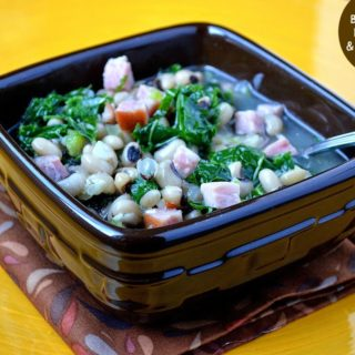 Black-Eyed Pea Ham & Kale Soup – New Years Soup