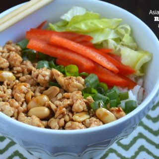 20 Minute Dinners: Asian Lettuce Wrap Rice Bowls #CreateAStir