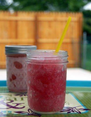 Frozen RaspberryMargaritas