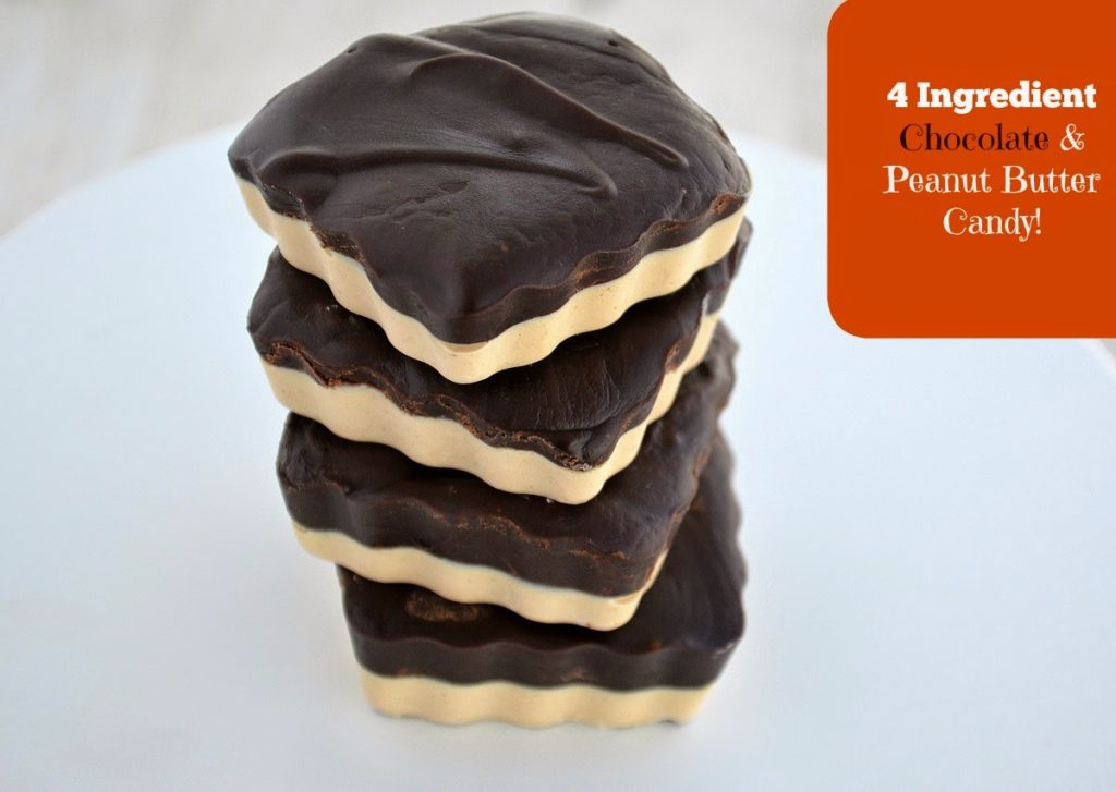 4 Ingredient Chocolate and Peanut Butter Candy