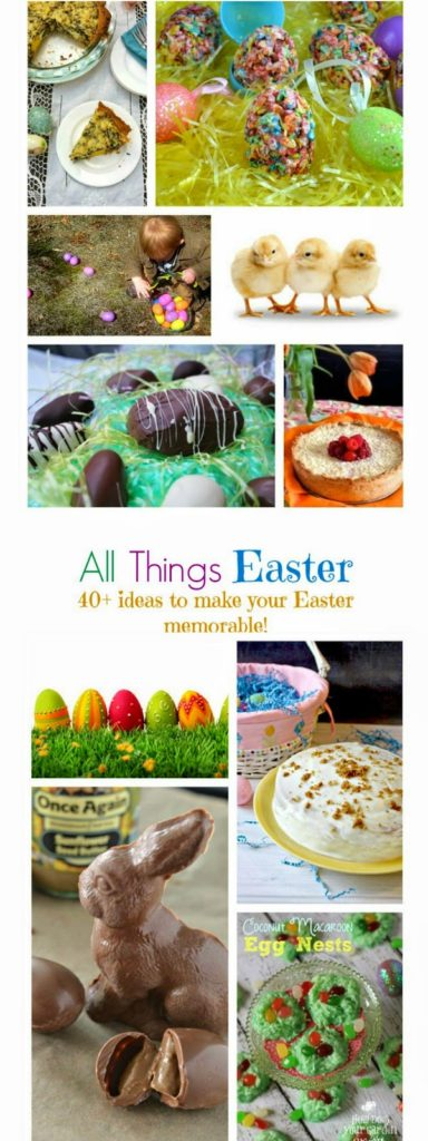 40 Easter Recipes, Activitiesand Crafts