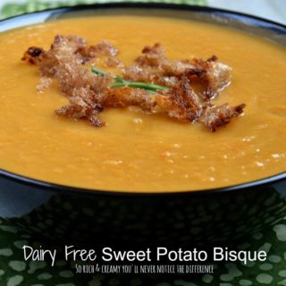Dairy Free Sweet Potato Bisque