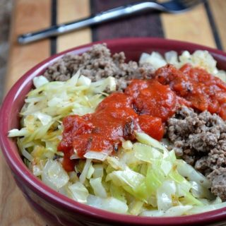 Stuffed Cabbage Rice Bowl