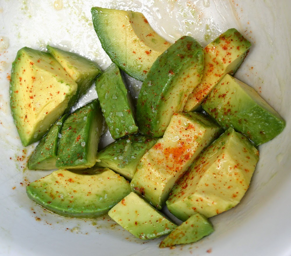 Seasoned Avocados Chucks