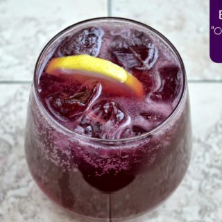 Blueberry Old Fashioned Cocktail