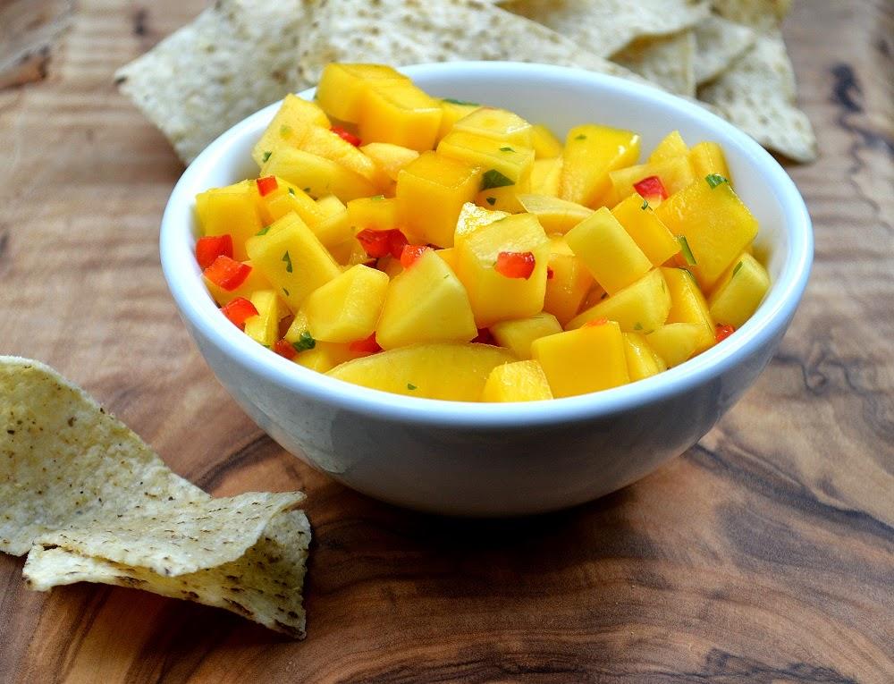 Easy Mango Salsa Recipe
