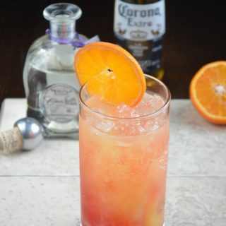 Cinco de Mayo Beer & Tequila Cocktail – The Corona Sunrise