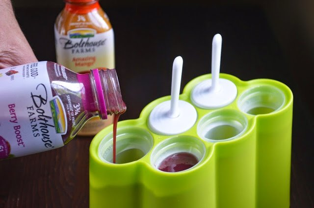 Making Yogurt & Bolthouse Farms Popsicles