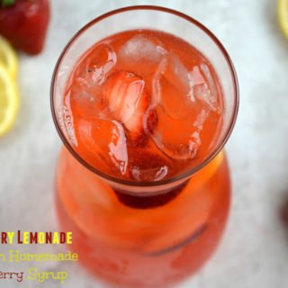 A Strawberry Lemonade The Kids Will Love