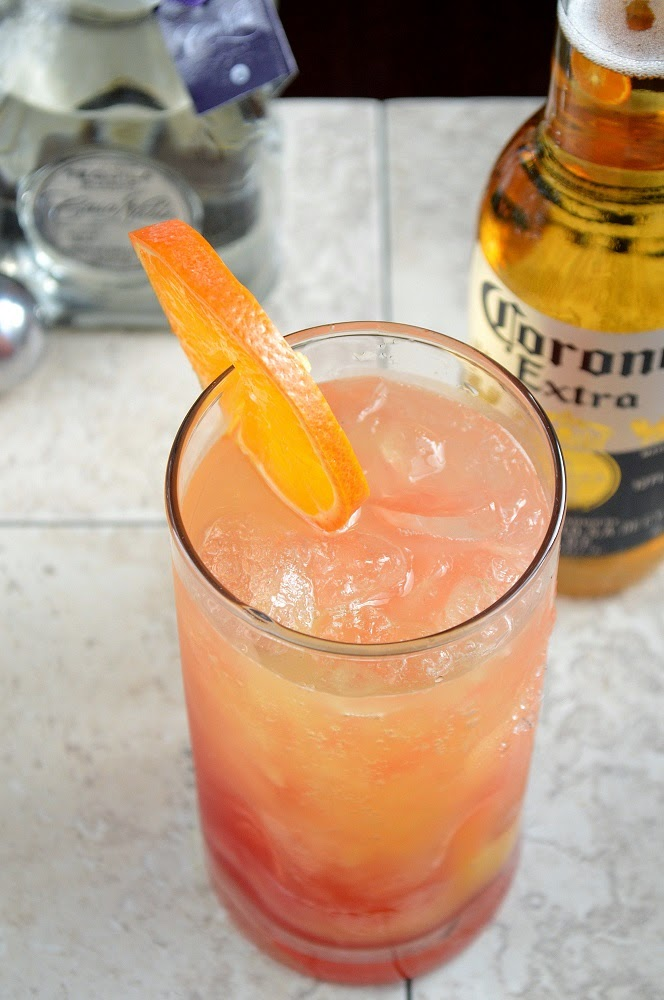 Cince de Mayo Cocktail with Tequila