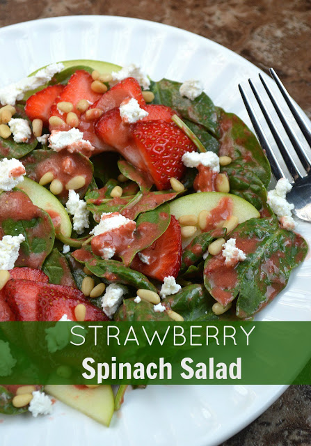 Spinach And Strawberry Salad Recipe Whole Foods