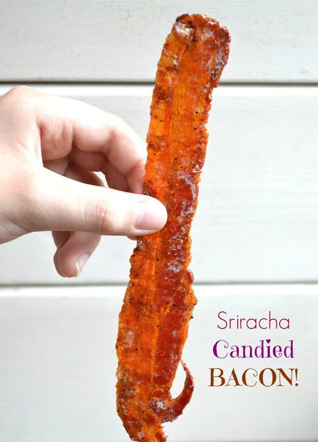 Sriracha Beer Candied Bacon AKA Pig Candy