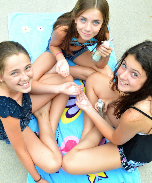 Tweens with candy