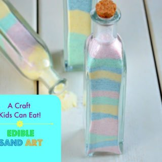 Candy Sand Art – A Craft Kids Can Eat