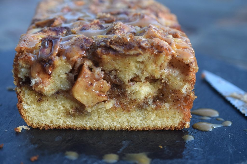 Delicious No Yeast Caramel Apple Bread