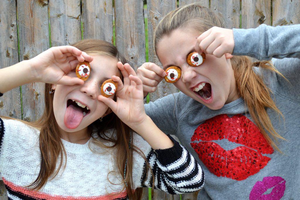 Candy Eyeballs for Halloween