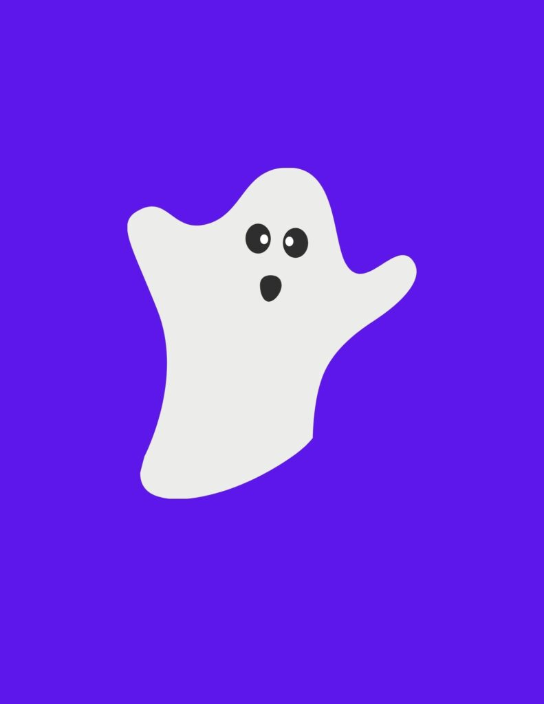 Halloween Booing Ghost