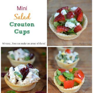 Crouton Cups For Salad AKA Salad Cups