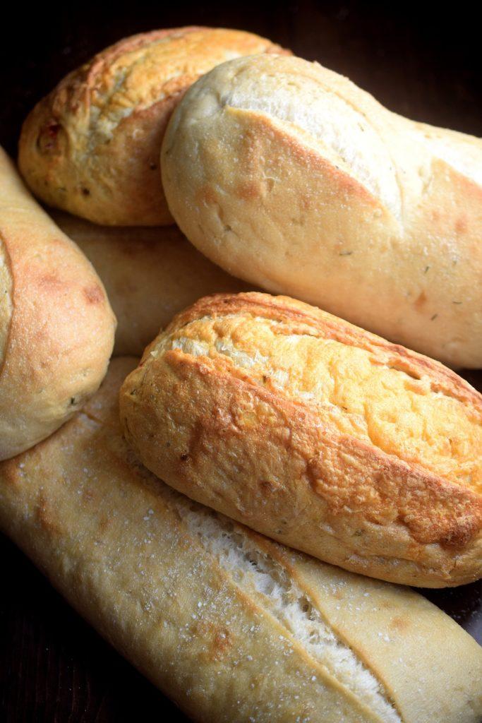 Assortmrnt of La Brea Bakery Breads