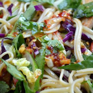 Asian Noodle Salad With Grilled Chicken