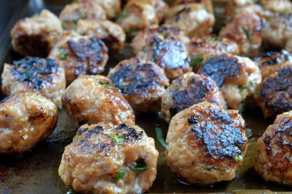 Banh Mi Meatballs