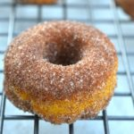 Baked Pumpkin Donuts with Cinnamon & Sugar - Just 20 minutes start to belly!