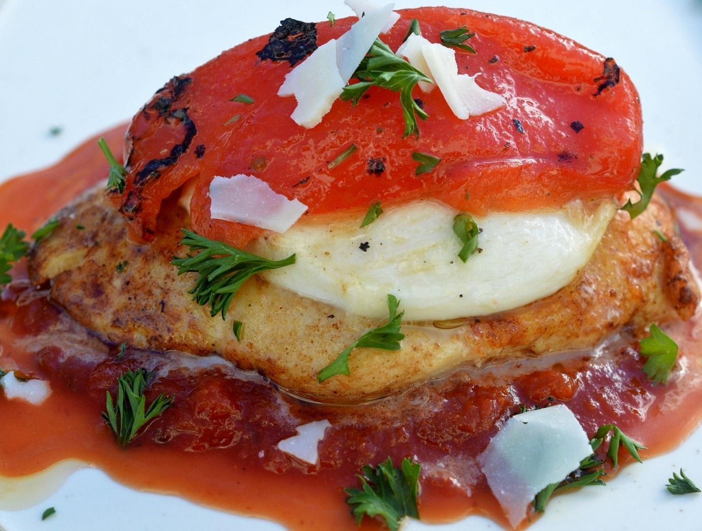 Chicken Italiano - Chicken, Mozzarella, Roasted Red Pepper & Sauce 20 Minute Meals