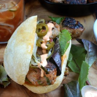 Pork Banh Mi Meatball Sandwiches