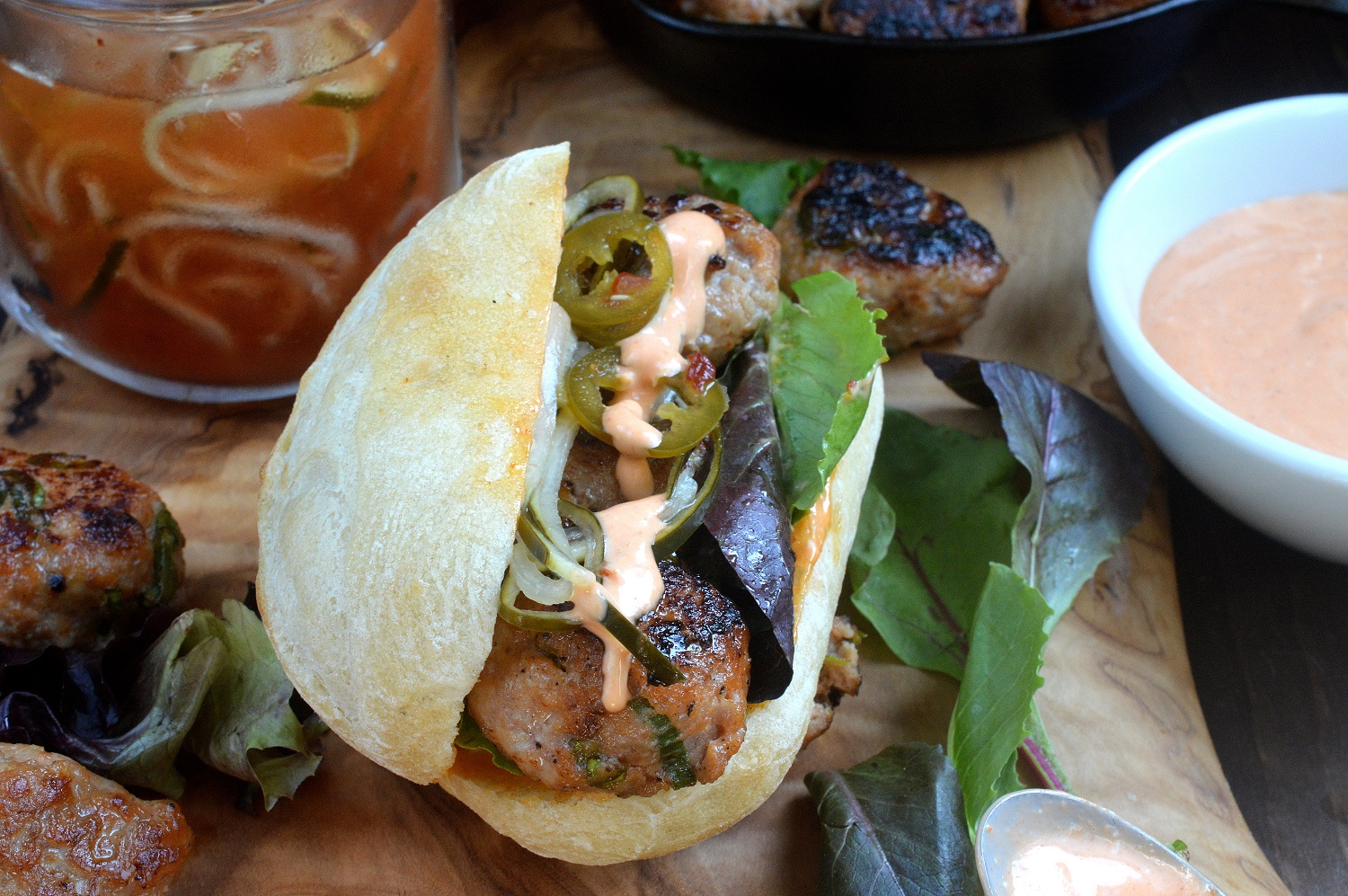 These Pork Banh Mi Meatball Sandwiches are one of the-most-delicious ...