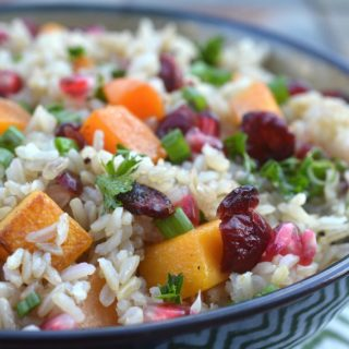 Fall Harvest Rice Bowl