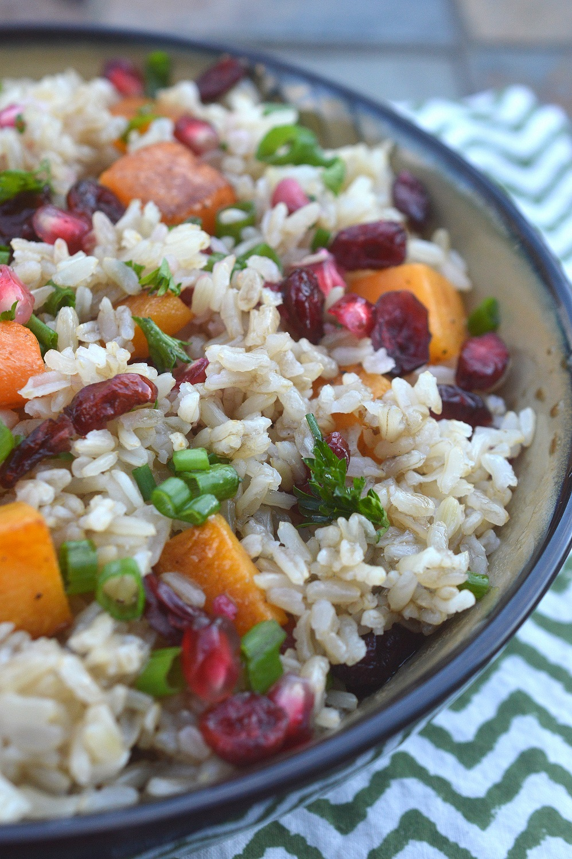 Fall Harvest Rice Bowl - Souffle Bombay