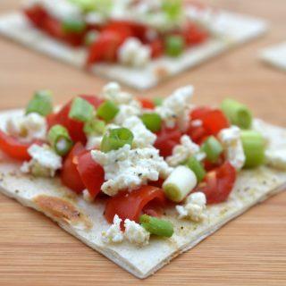 Mediterranean Feta & Tomato Bites