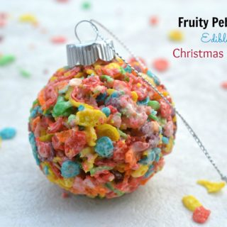 Fruity Pebbles Christmas Balls