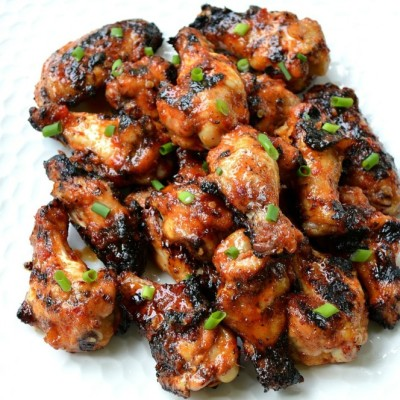 Grilled Asian Chicken Wings Perfect for Tailgating