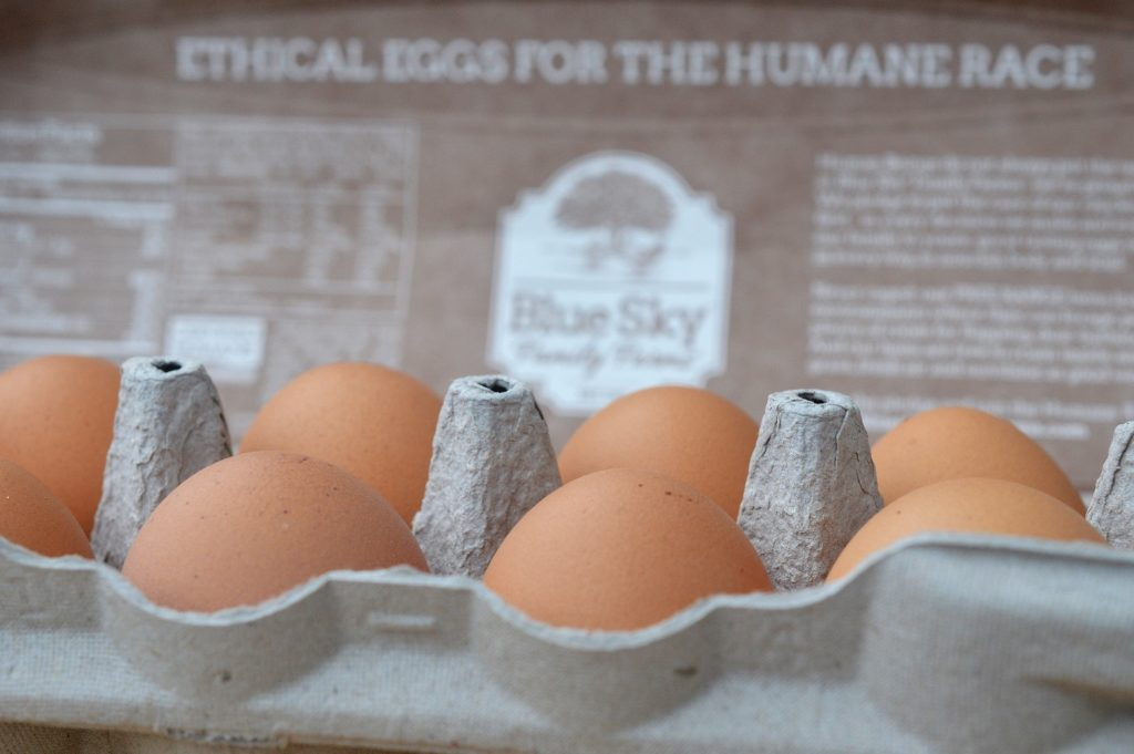 Blue Sky Family Farms Non-GMO Organic Ethical Eggs