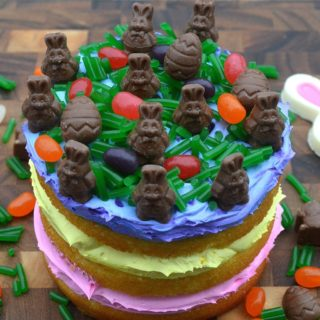 Fun Easter Candy Cake