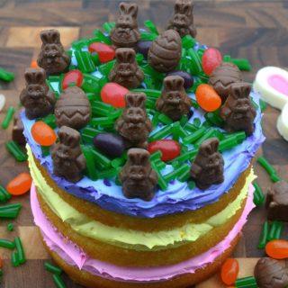 Fun Easter Candy Cake