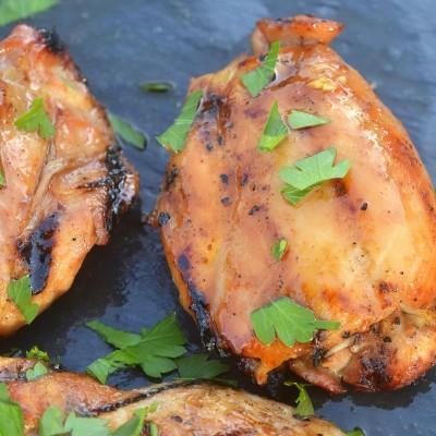 Honey Sriracha Grilled Chicken
