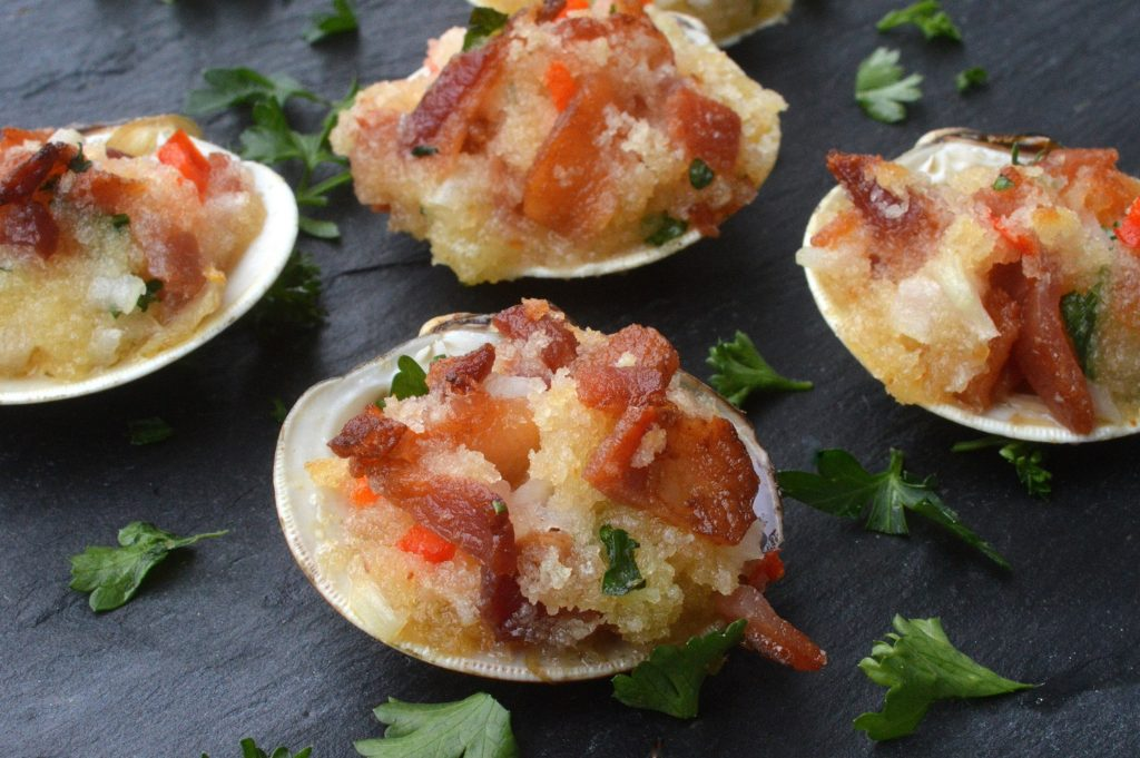 Bacon Stuffed Clams - One bit will leave you with a new favorite clam recipe!