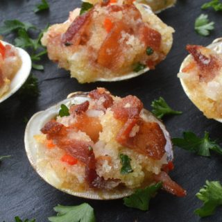 Bacon Stuffed Clams