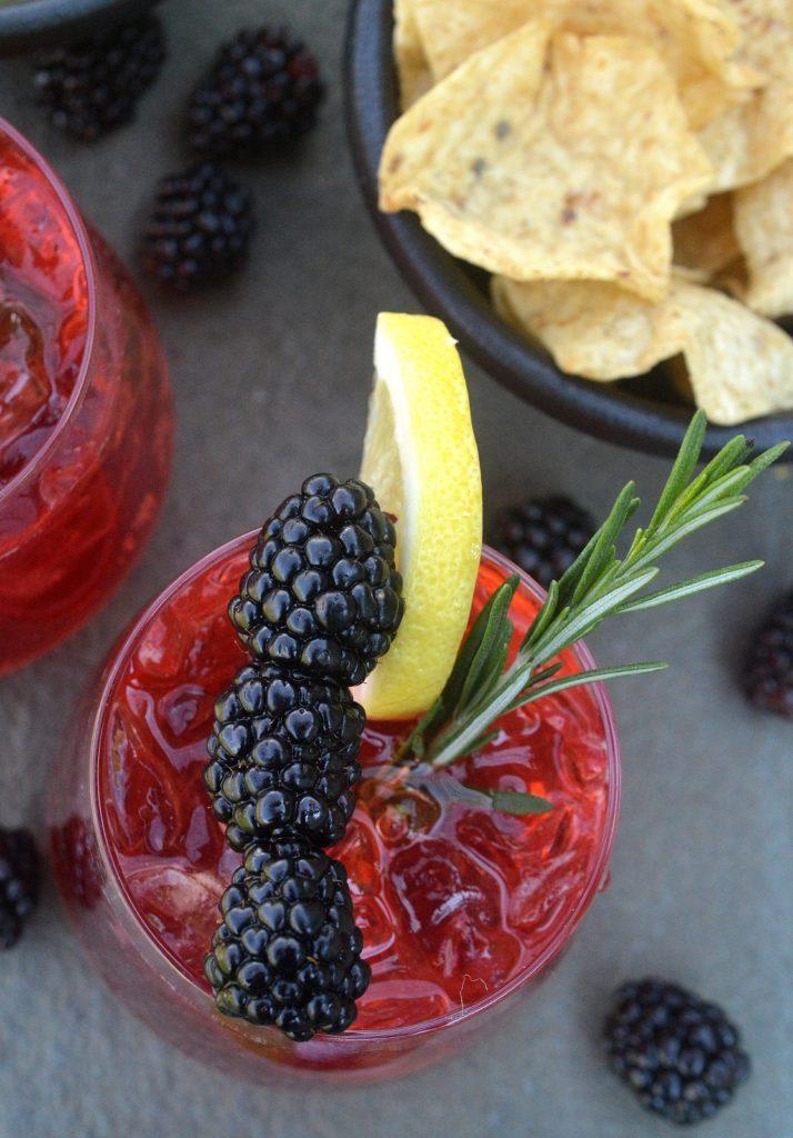Blackberry Great for BBQ's! Lemonade Vodka Cooler