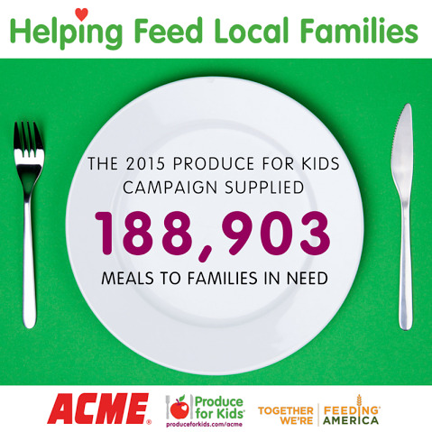 Produce For Kids Acme and Feeding America