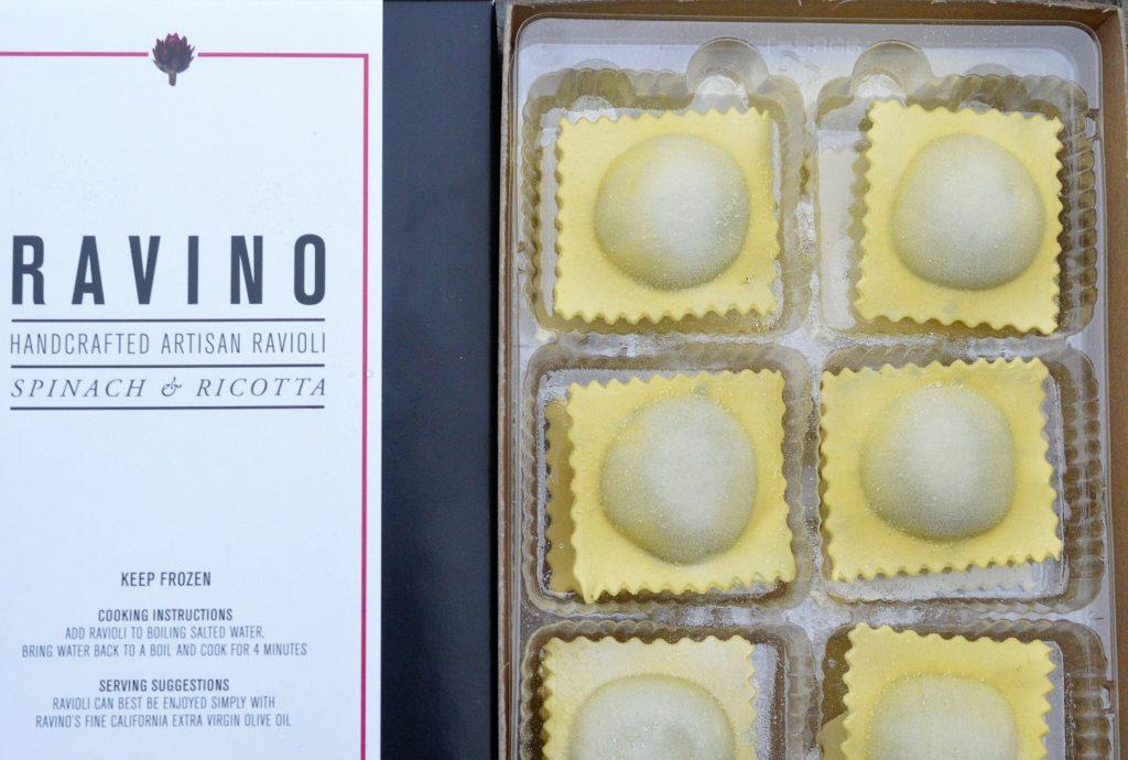 Ravino Artisan Spinach & Cheese Ravioli