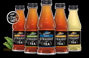 New Snapple Straight Up Tea