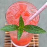 This delicious & refreshing Watermelon Vodka Cooler is the perfect summer sip!