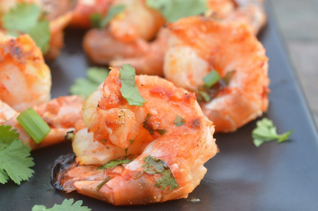 Grilled Sweet & Spicy Shrimp - Easy, yummy and, its SHRIMP!!