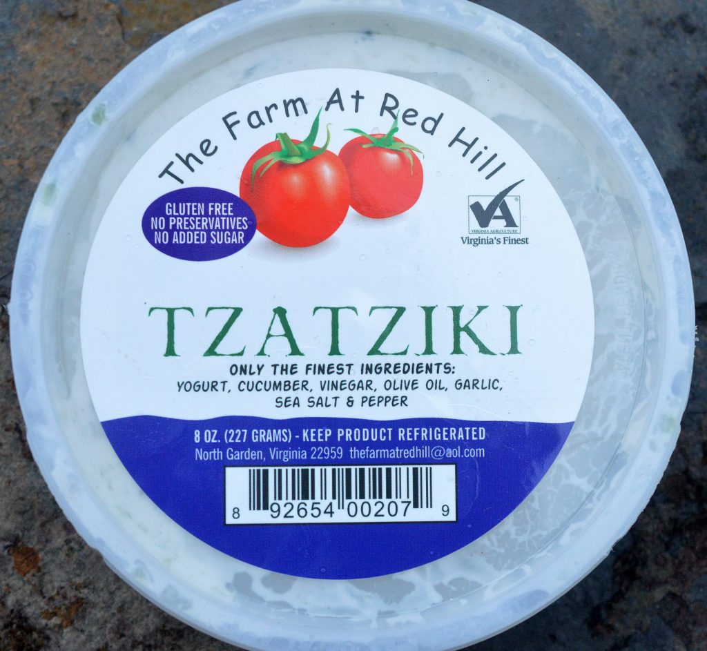 The Farm at Red Mill Tzatziki Sauce from Whole Foods...YUM!!!